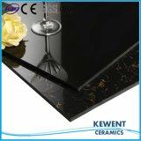 Vendita calda Polished nera eccellente delle mattonelle di pavimento della porcellana dell'ente completo