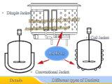 Acero inoxidable 200L caldera de reacción con la bobina de la chaqueta (reactor de tanque)