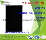 """étalage de TFT LCD de 7.0 """" 720X1280 Mipi, 39pin pour la position, sonnette, médicale, véhicules"""