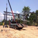 Construcción prefabricada del taller de la estructura de acero para Tailandia