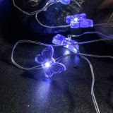 يشعل خيط داخليّ ساحر بطارية يشغل [كبّر وير] دقيقة فراشة [لد] أضواء لأنّ عيد ميلاد المسيح