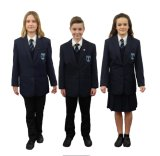 Guangzhou-Zubehör-Primärblazer-Blusen-Entwurfs-Schule-Blazer-Uniform
