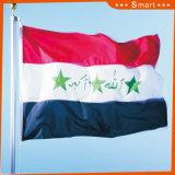Su ordinazione impermeabilizzare e modello no. della bandiera nazionale dell'Iraq della bandiera nazionale di Sunproof: NF-044