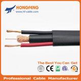 75ohm Rg59+2 Stromleitung Rg59 siamesisches hybrides Kabel
