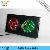 Luz de sinal verde vermelha industrial personalizada do tráfego do parque 200mm