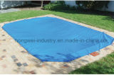 encerado del PVC para la valla de seguridad en las piscinas