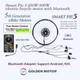 Intelligente der Torte-5 elektrischer Bewegungsnaben-BewegungsunterstützungsBluetooth Adapter Fahrrad-der Konvertierungs-Kit/BLDC und LCD-Bildschirmanzeige