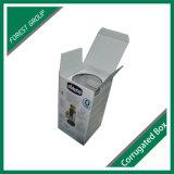Caixa de embalagem branca do cartão ondulado para frascos