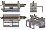 Metallblatt-Platten-Walzen-Maschine der 3mm Stärken-SPCC