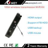 Heiße verkaufen1080p 8chs WiFi 2.0megapixels Installationssätze der IP-Kamera-NVR