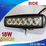18W LED 일 빛 램프 스포트라이트 4WD ATV