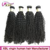 Xbl один человеческие волосы Donor монгольского курчавого естественного Afro Kinky