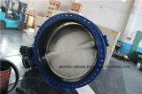 Dn1400 Dubbel Van een flens voorzien Vleugelklep met Speld (D341X-10/16)