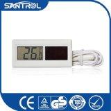 Weiße industrielle Abkühlung-Solardigital-Thermometer