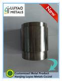 CNC подвергая механической обработке при подвергли механической обработке сталь углерода, котор