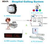 Pager van het ziekenhuis het Verre Waakzame Systeem van de Vraag van de Noodsituatie Draadloze
