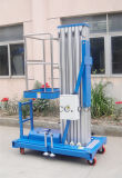 mástil de aluminio móvil de la plataforma de trabajo 10meter solo (GTWY10-100)