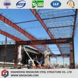 Pebの倉庫の小屋の鉄骨構造の構築