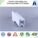 Profil de guichet de glissement de PVC/UPVC avec la moustiquaire
