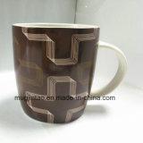 Copo de café cerâmico Copo de esmalte Copo de presentes Conjunto de presente de louça Conjunto de chá Logotipo de impressão completo