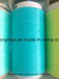 가죽 끈을%s 600d/64f 녹색 FDY PP 털실