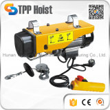 Mini élévateur électrique portatif de câble métallique d'équipement industriel