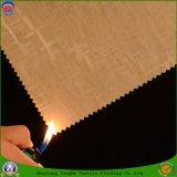 Tela impermeable revestida tejida materia textil casera de la cortina del apagón del franco del poliester para la cortina de ventana
