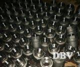 Válvulas de porta rosqueadas da válvula de esfera do aço inoxidável