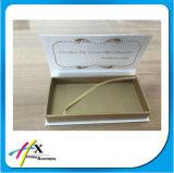 Изготовленный на заказ коробка ложной ресницы крышки магнита упаковывая с окном