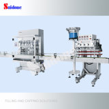 Máquina de rellenar y capsulador automáticos para el líquido del lavado con servicio de ultramar