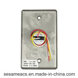 Acier inoxydable aucun bouton de porte de COM d'OR (SB3H)