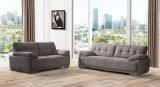 Jogo de couro moderno do sofá da mobília Home de madeira