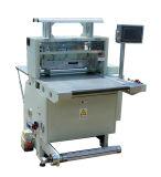 Máquina de estaca automática da etiqueta da etiqueta do corte da metade