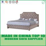 Het moderne Dubbele Bed van het Leer voor het Meubilair van de Slaapkamer