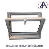 La finestra di alluminio della tramoggia/parte inferiore di alluminio ha appeso la finestra