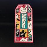 Tag Multicolor do cair do cartão novo do projeto, Tag do balanço