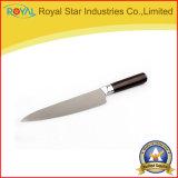 Le couteau d'acier inoxydable de la qualité 6PCS a placé avec le tablier d'outil