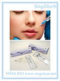 Amélioration des lèvres de remplissage dermique à l'acide Hyaluronique et à l'acide hyaluronique Singfiller