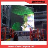 pH2 a todo color de interior que hace publicidad de la pantalla del LED