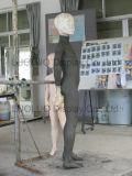 Mannequin realístico das crianças do ODM para o indicador do vestido da loja