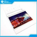 Impressão 2018 quente do calendário de mesa do costume da venda