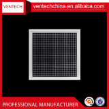 HVACシステムアルミニウム正方形のEggcrateのグリルの空気グリル