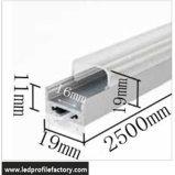 1911g LED 선형 알루미늄 채널 Extrusium 유포자 단면도 빛