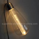 De openlucht Goedkope Batterij stelde het Kleurrijke Plastic Licht HOOFD van Edison in werking