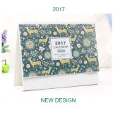 Aangepaste afdrukken Wall Office Supply Desktop Paper Desk Calendar