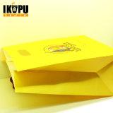 Рециркулированный роскошью мешок Kraft розницы верхнего качества бумажный