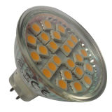3.1-3.3watt luz 12V Gu5.3 (LED-MR16-001) del punto de las energías bajas