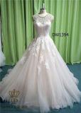 способ 2017 отбортовывая платья венчания платья партии женщин -Ling шнурка Bridal