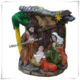 Polyresin 종교적인 기술 기념품 종교적인 동상은 도매한다 (IO ca045)