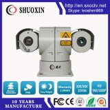 30XズームレンズCMOS 300mの夜間視界レーザーHD IP PTZ CCTVのカメラ